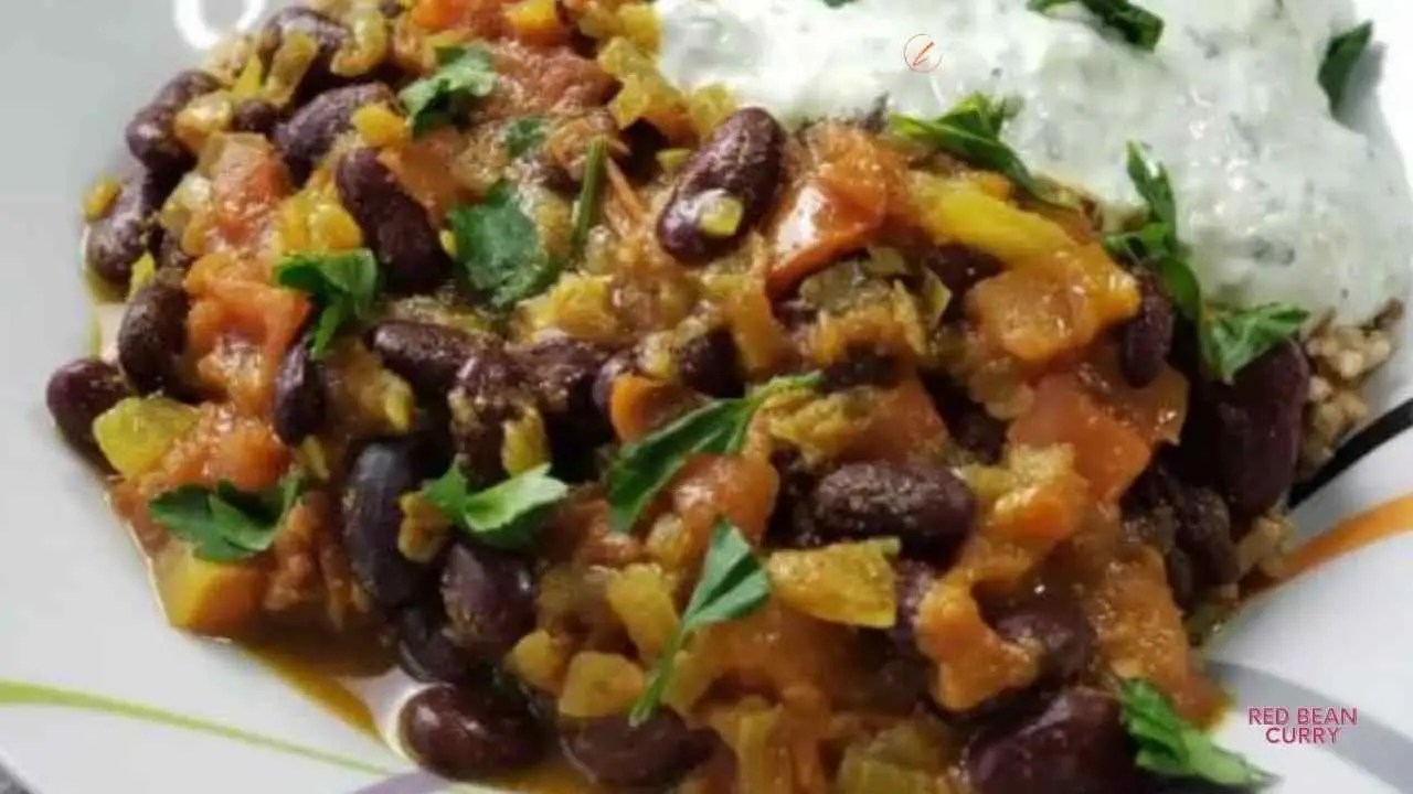 Red Bean Indian Curry with Gluten-Free Grains Pilaf
