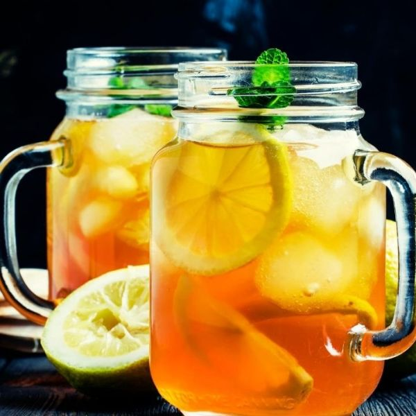 White Citrus Iced Tea