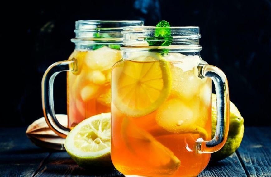 White Citrus Iced Tea