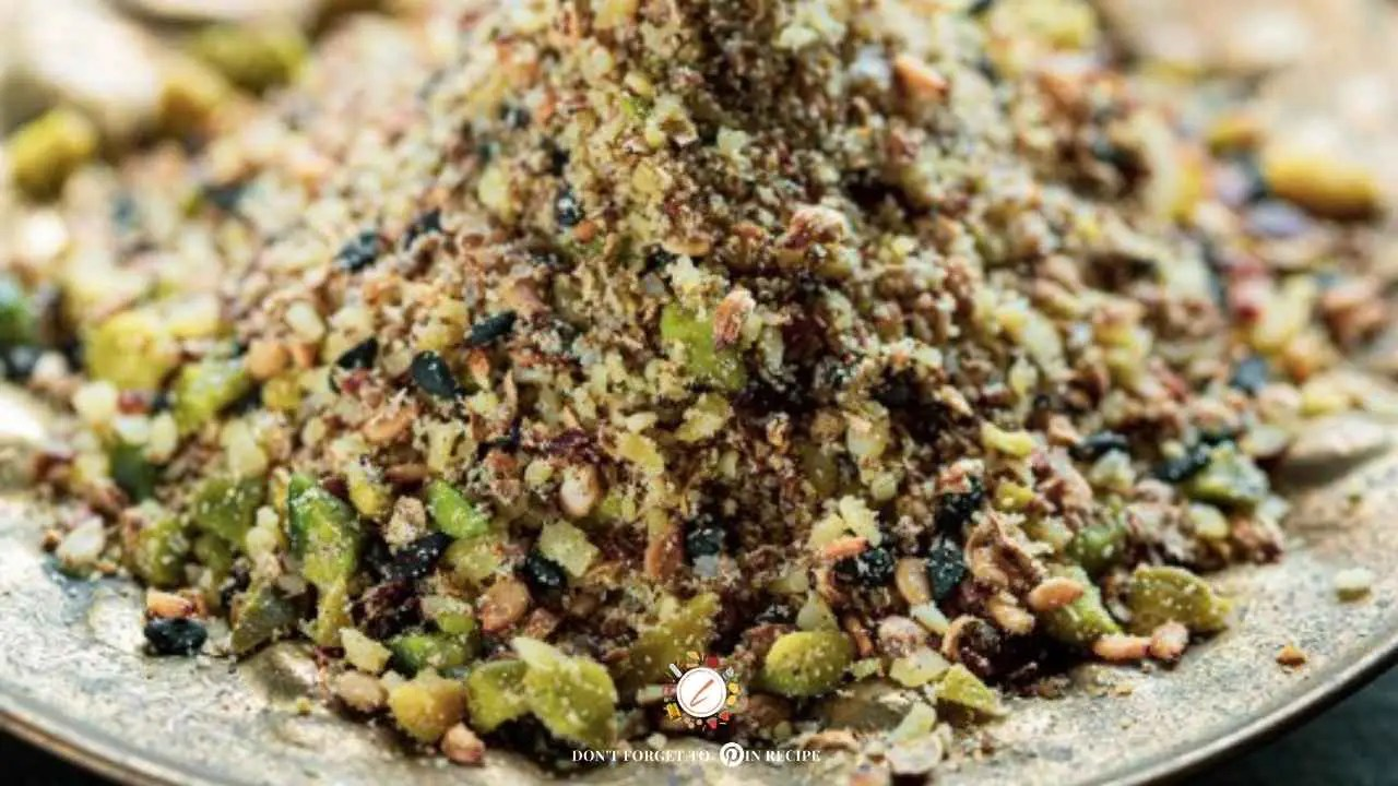 Spicy and Tasty Dukkah