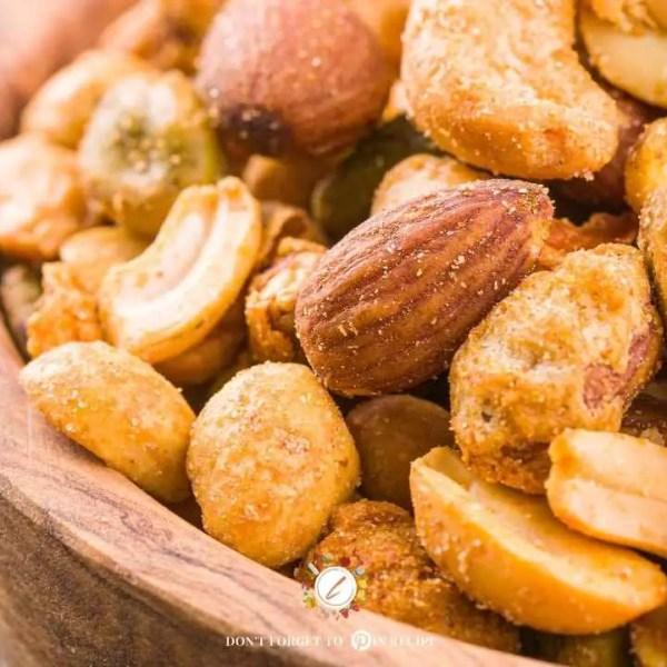 Tasty Salted Roasted Nuts