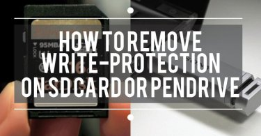 how to remove write protection from sd card and pendrive
