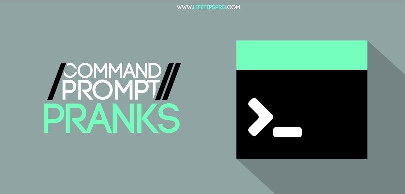 command prompt pranks cmd pranks