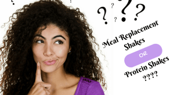 meal replacement shake or protein shake ? We help you to choose