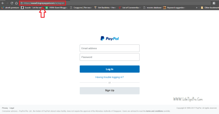 Paypal accounts can be hacked by sending a phishing page