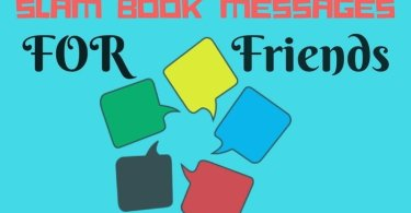 slam book messages for friends, sms and students