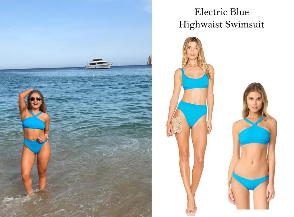 L Space Electric Blue Bikini