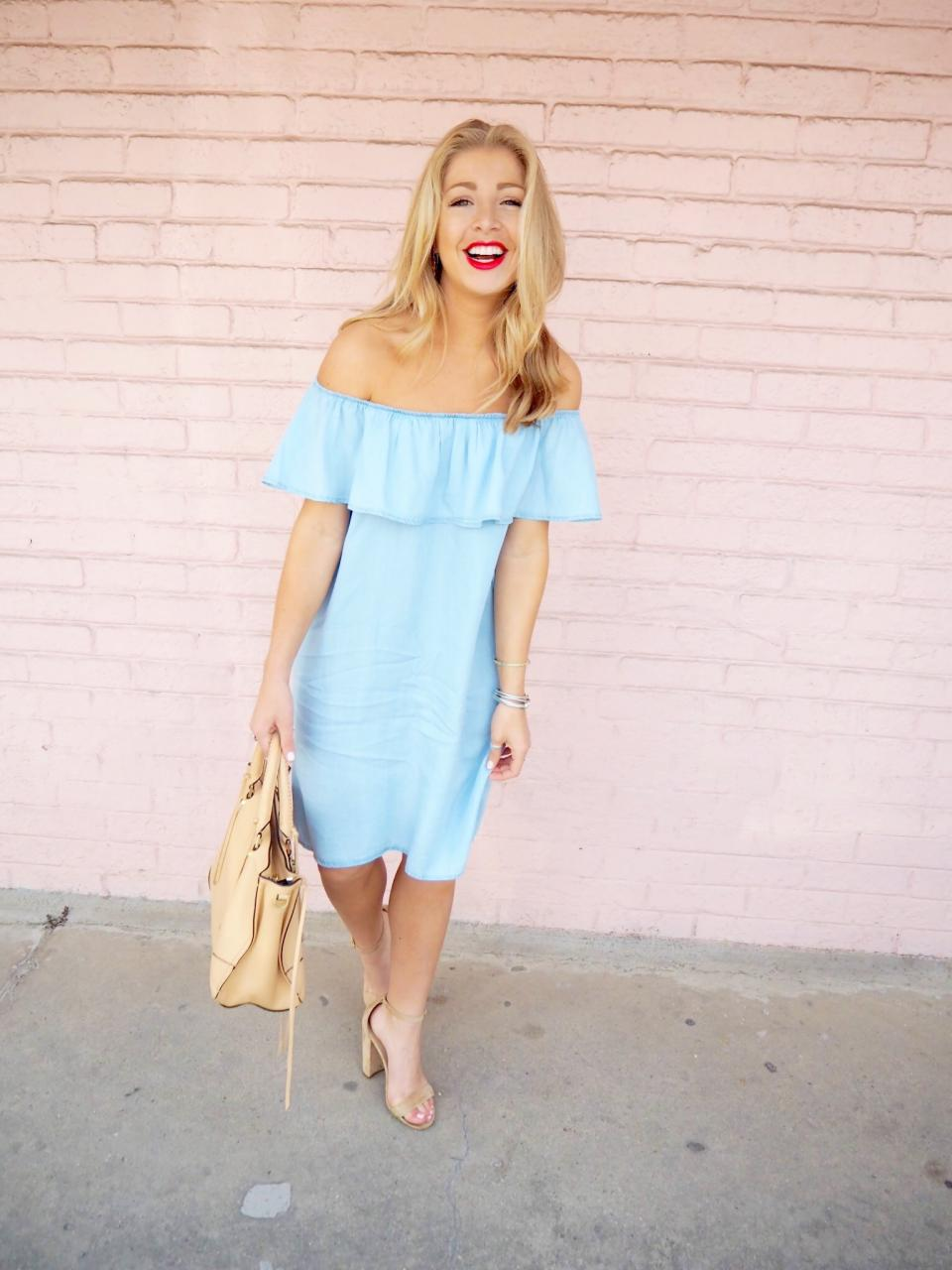 Off the Shoulder Dress