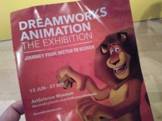 Dreamworks Exhibition in Singapore