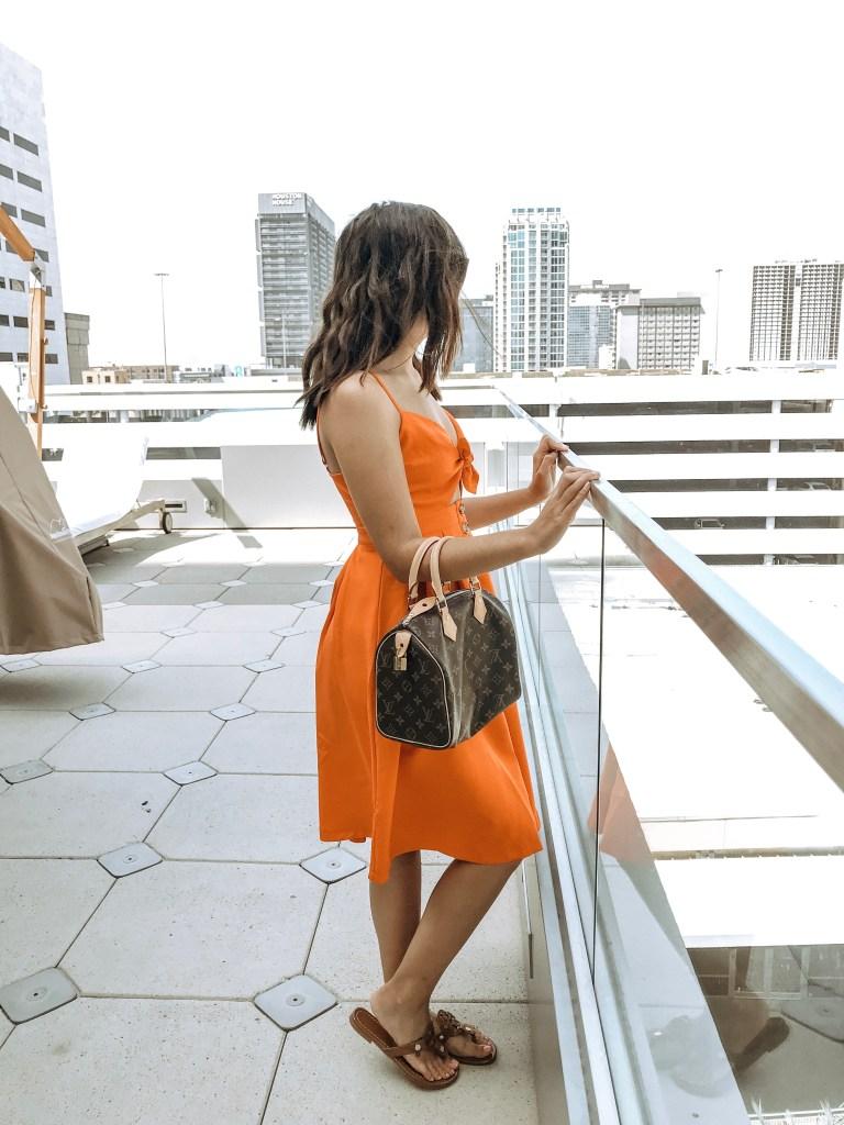 Friday Favorites: The Cutest Orange Dress