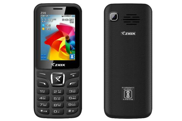 Ziox Mobiles launches its newest feature phone, Z99