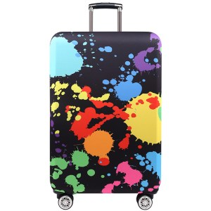 """TRIPNUO Thicker Blue City Luggage Cover Travel Suitcase Protective Cover for Trunk Case Apply to 19""""-32"""" Suitcase Cover"""