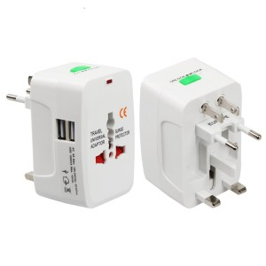 All-In-One International USB Plug Adapter
