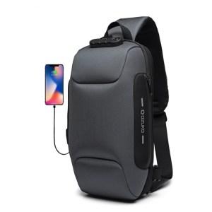 OZUKO 2019 New Multifunction Crossbody Bag for Men Anti theft Shoulder Messenger Bags Male Waterproof Short Trip Chest Bag Pack-in Crossbody Bags