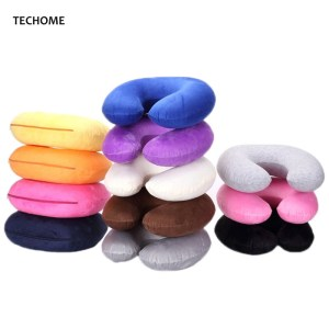 Inflatable Soft Neck Travel Pillow