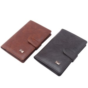 Men's Travel Passport Cover and Card Holder