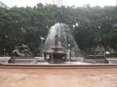 The Archibald Fountain commemorating WW1