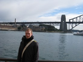 The Rocks and Sydney Harbour Bridge in the background