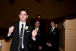 Bryan dances away any pre-wedding anxiety