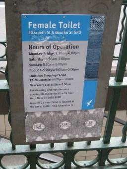 #14: Historic public toilers (Women's in 1927)