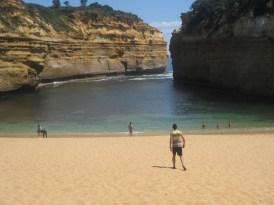 ...but a beautiful beach