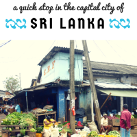 Colombo: A Quick Stop in the Capital City of Sri Lanka