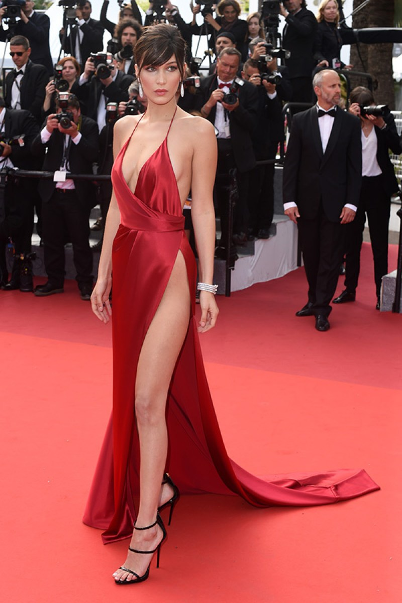 Bella Hadid cannes red carpet 13