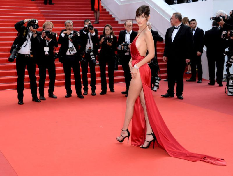 Bella Hadid cannes red carpet 17