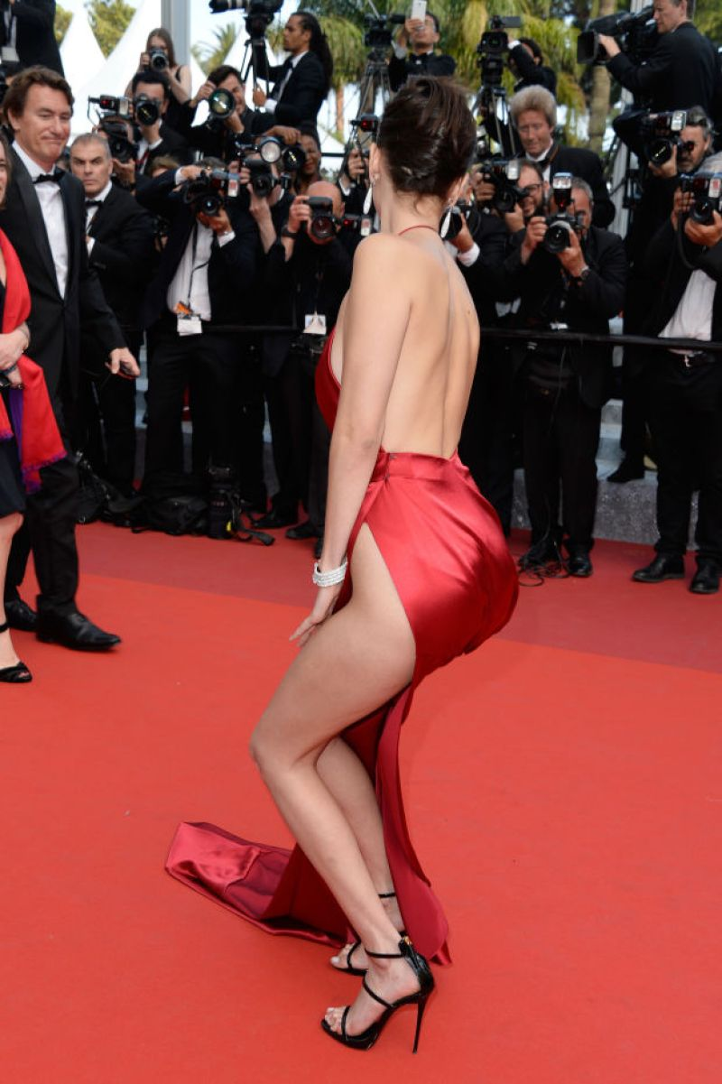 Bella Hadid cannes red carpet 36