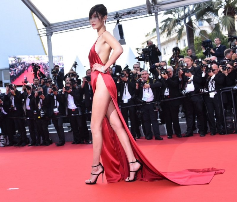 Bella Hadid cannes red carpet 6