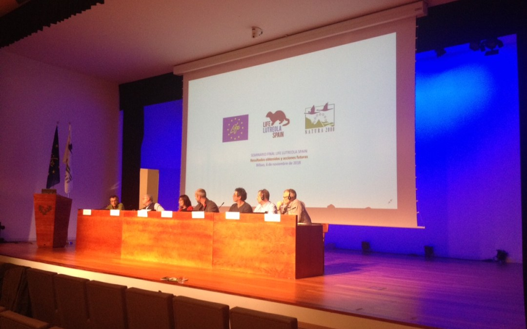 Le programme LIFE LUTREOLA SPAIN touche à sa fin