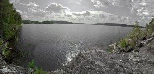 Панорама о.Ладожское