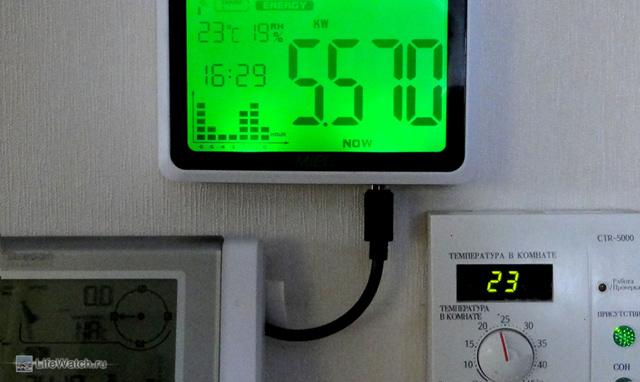 Контроль потребления электричества