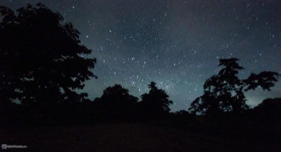 Звездное небо без засветки.