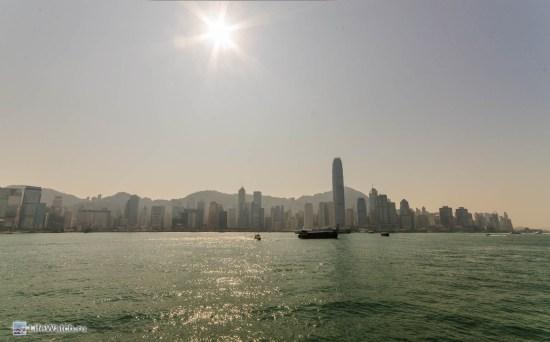 Вид на Гонконг со стороны Tsim Sha Tsui