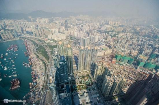 Kowloon вид с ICC