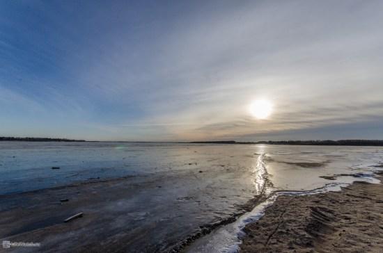 Северная Двина после слияния с Вычегодой
