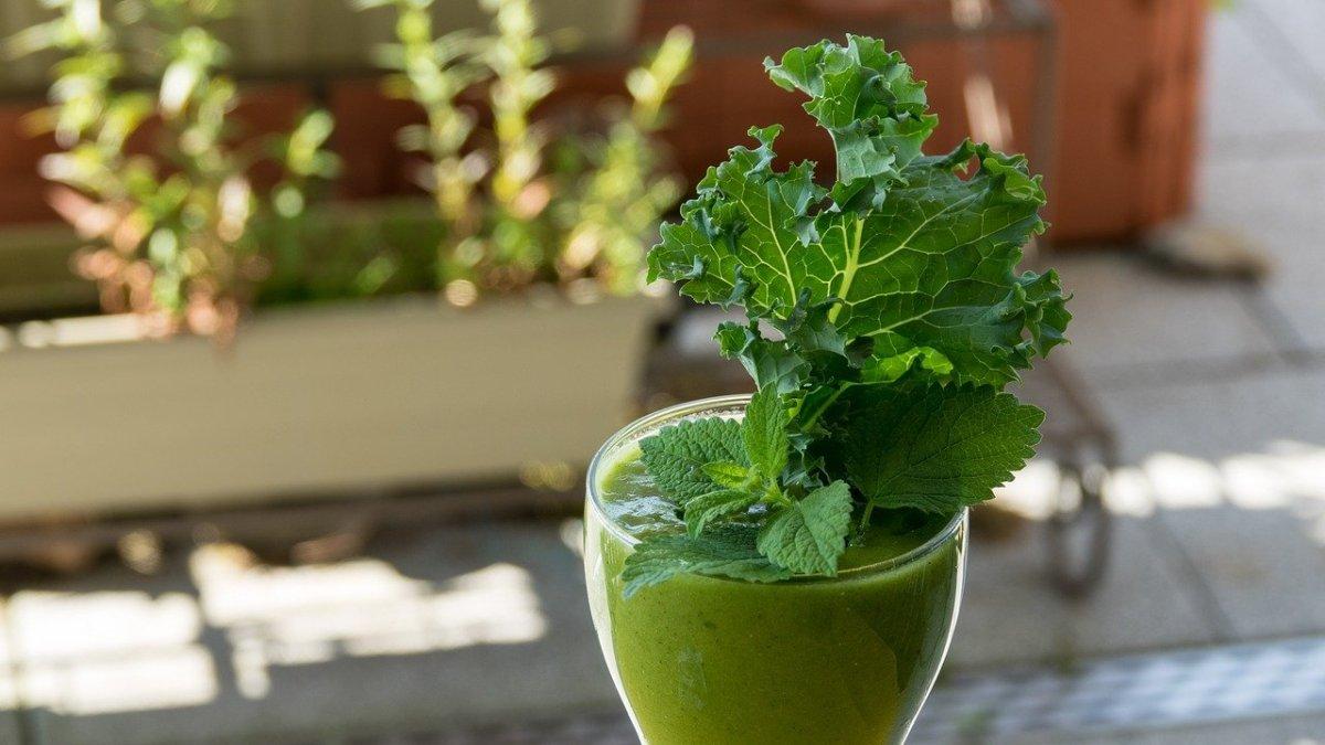 Water Kefir Green Juice