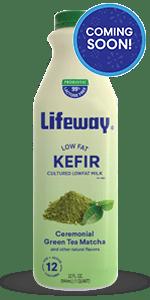 green matcha low fat