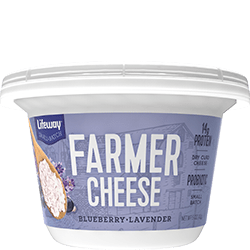 Blueberry Lavender Farmer Cheese