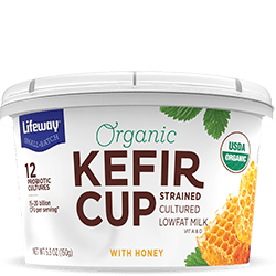 Honey Organic Kefir Cup