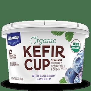 Blueberry Lavender Organic Kefir Cup