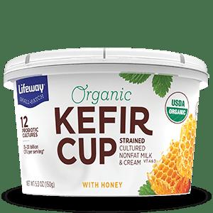 Honey Organic Kefir Cup