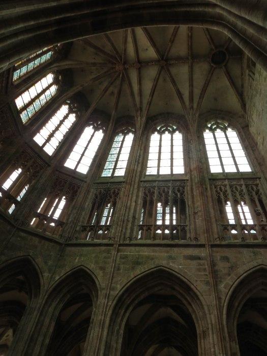 mont saint michel clerestory