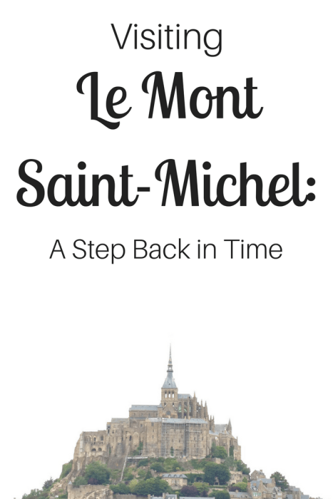 Visiting Mont Saint-Michel is like taking a step back in time. It is a tiny island commune and abbey situated on the border of Normandy and Bretagne in France and a beautiful UNESCO World Heritage Site.
