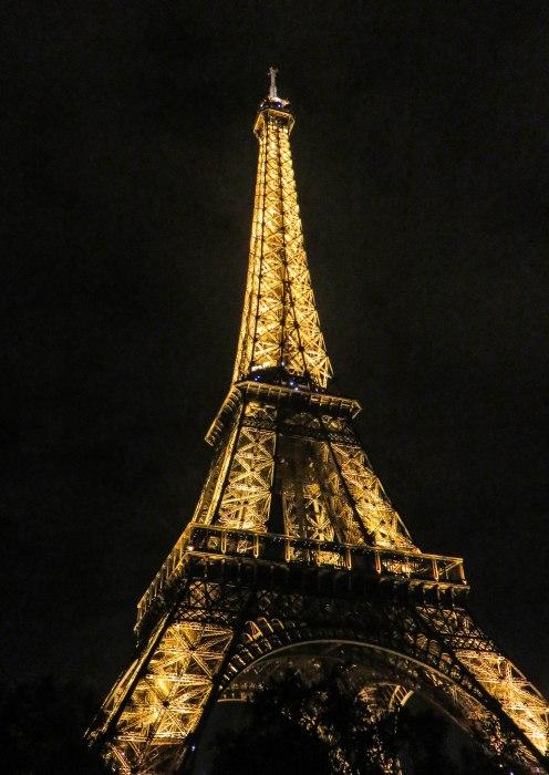 tour eiffel nighttime