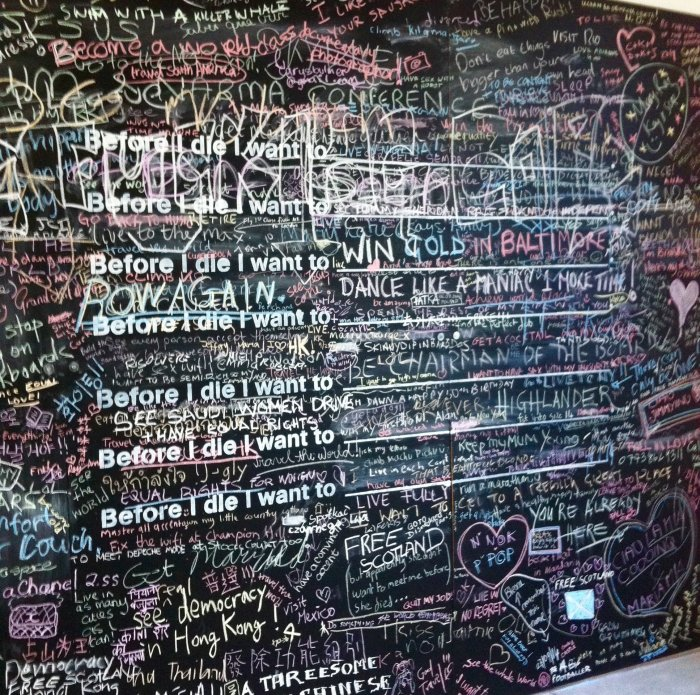 before i die i want to london