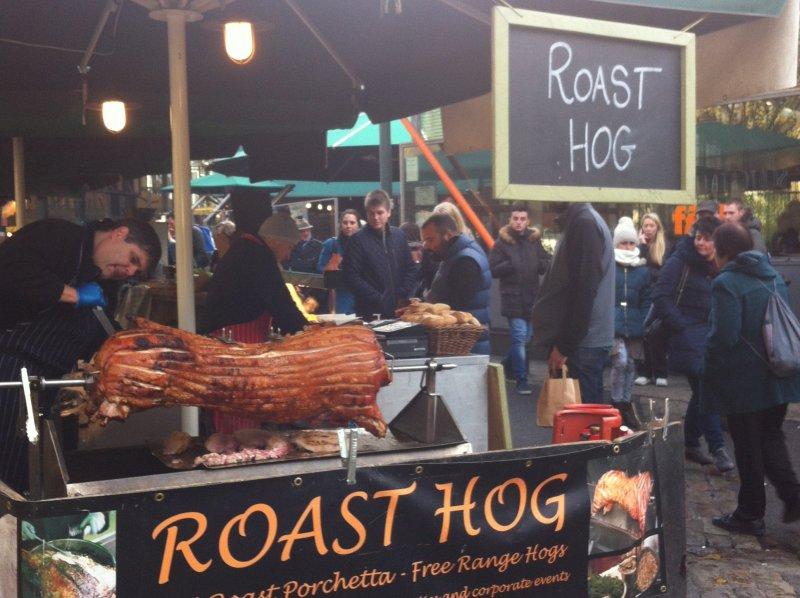 roast hog borough market london image