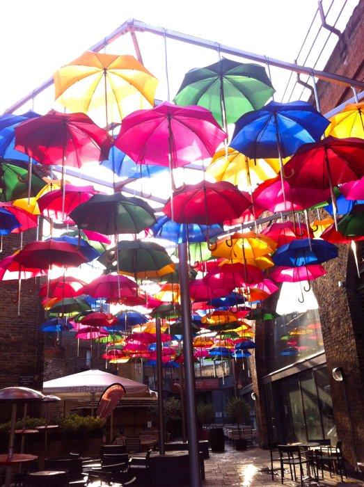 london southbank umbrellas