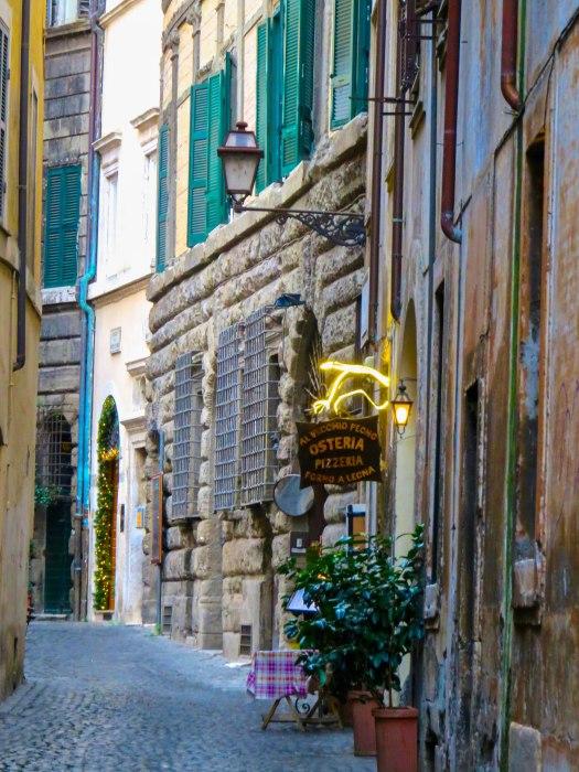 quiet rome street
